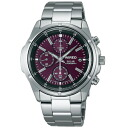 SEIKO wired solar watch men chronograph new standard model AGAD042