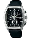 SEIKO wired watch men clock new standard model chronograph AGAV084