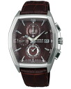 SEIKO wired watch men clock new standard model chronograph AGAV085