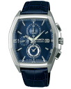 SEIKO wired watch men clock new standard model chronograph AGAV086