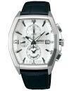 SEIKO wired watch men clock new standard model chronograph AGAV087