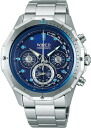 SEIKO wired watch men THE BLUE the blue MARINE Malin chronograph AGAW423