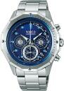 Seiko wired watches mens BLUE the blue MARINE marine chronograph AGAW423