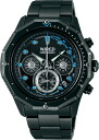 SEIKO wired watch men THE BLUE the blue MARINE Malin chronograph AGAW424
