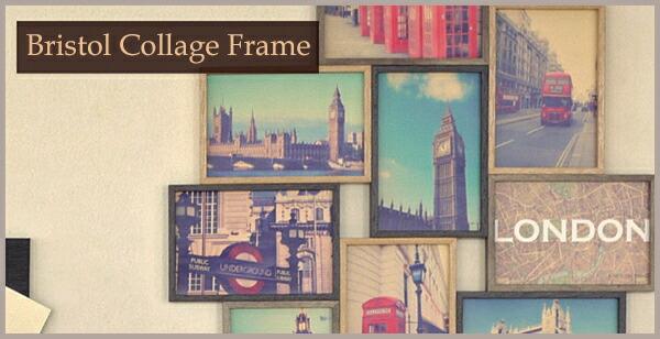 Bristol collage Frame �֥ꥹ�ȥ륳�顼����ե졼��