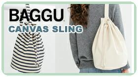 BAGGU CANVAS SLING