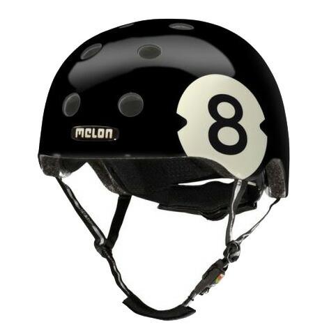 メロンヘルメット 8Bool エイトボール