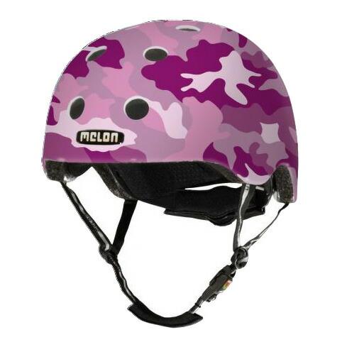 メロンヘルメット カモフラージュピンク