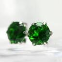 5 ミリラウンド diopside earrings