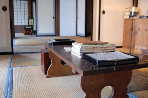 和室と古書