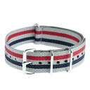 It is crew Watch strap stripe watch strap (GREY/RED/NAVY) J.CREW Jay