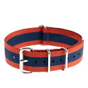 It is crew Watch strap stripe watch strap (ORANGE/BLUE) J.CREW Jay