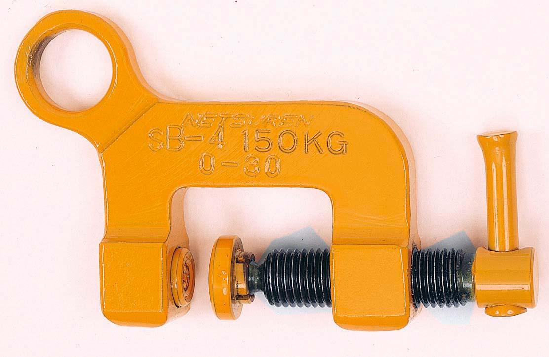 ネツレン 安全帯用取付クランプ SB-4型 [A020124]