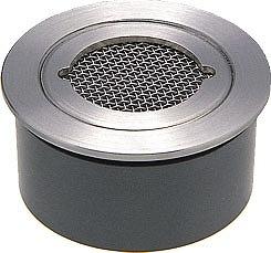 カクダイ KAKUDAI  VP・VU兼用ステンレス防虫目皿(接着式) #4247-125 [A151001]