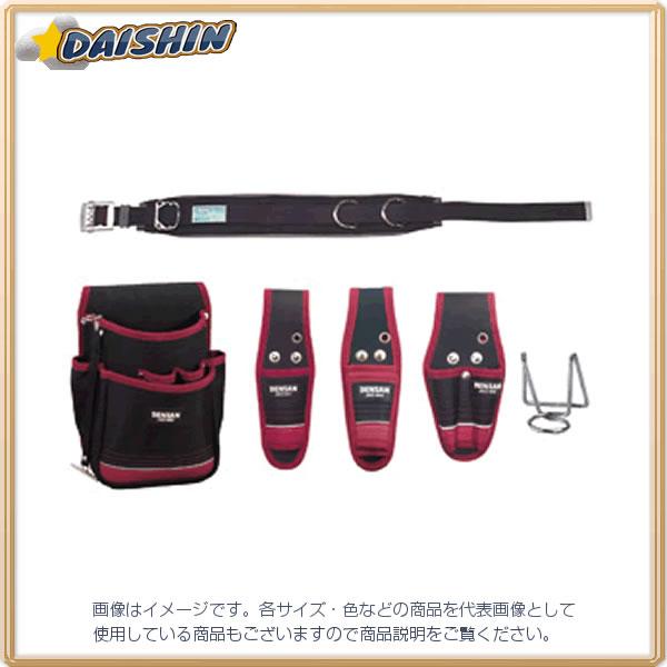 ジェフコム 電工プロキャンバス腰道具セット JNDS2-96BK-SET [A061003]
