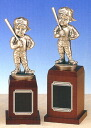 A trophy: Baseball boy bronze (220mm in height) BT629-A