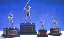 Trophy: baseball batter trophy bronze (height 140 mm) BT799-C