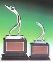 Trophy: Golf bronze trophies: art swing (height 185 mm)