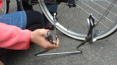 自転車の 自転車 変速機 グリップ 交換 : ... 交換 変速機無し編:自転車