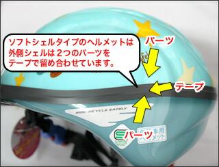 写真のヘルメットはイメージ ...