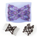 Same day shipping! You cannot choose time! The cod mailing +210 circle! ★ London hair accessories! Hairstyles of the more than 20 available! 10 Seconds in a head range! スウィンキー (Eden purple ) 10P28Dec13