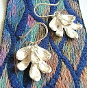 Leaf earrings (Juan Carlos)