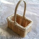 # 809 evening white square basket (small)