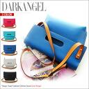 Blast code also stylish! 2-Way shouldercratchbag / ladies shoulder bag clutch 2-WAY simple DarkAngel / Dark Angel