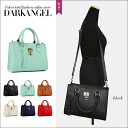 Good convenience preeminence! It is DarkAngel/ dark angel at the simple bias with the 2Way handbag & shoulder bag / Lady's handbag shoulder back 2WAY string with key