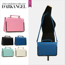 A feeling of Rich shining elegantly! Adult Rich 2WAY bag / Lady's bag 2WAY pochette handbag Shin pull party Rich DarkAngel/ dark angel