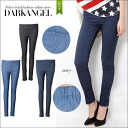 The DarkAngel/ dark angel whom mobile ♪ デニムカラーレギパン / レディースレギンスパンツレギパンパギンス Natsuaki denim jeans stretch is postponed till by distinguished stretch