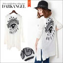 It is DarkAngel/ dark angel in the ♪ back print topcoat cardigan / Lady's cardigan thin mode system topcoat cardigan mode system long shot summer which I want to recommend to a mode system enthusiast