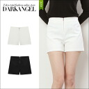 Basic to wear ♪ haywestshortpants / women's shorts high-waisted solid basic dates spring summer DarkAngel / Dark Angel