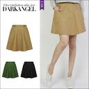 The military style of the season ♪ cargofreaskart / women's skirt cargo skirt mini length its spring summer military Darangel / Dark Angel