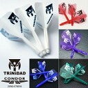 CONDOR Professional Integrated Flights & Shafts - TRiNiDAD Logo - SMALL shape