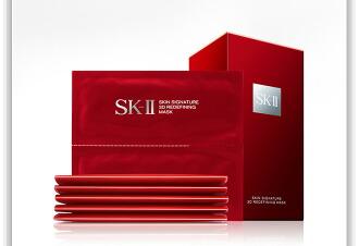 SK-II skii面膜sk2活膚緊顏雙面膜 雙面面膜貼6片裝提拉緊緻