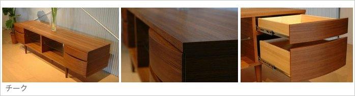 眼镜和侧板: 天然木材单板柚木)   内部和背面: 打印胶合板   货架