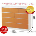 White chest カラフルチェスト chest 100 cm width 4 ( Passo ) colored furniture mirror finish color home fixture color storage colorful furniture children's dresser drawer chest closet for clothes chest of drawers ベビーダンス