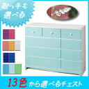 Drawer glitter handle chest 115 cm width 4-stage (pallet) children's chest of drawers baby tons color furniture color storage colorful furniture colorful storage color chest clothing storage closet for European style furniture