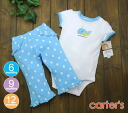 Carters carter's Bodysuit & pants whale and white x blue