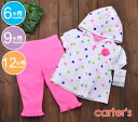Carter's Carter's2 point set colorful dot parka & pink underwear