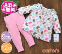 Carter's setup bird pattern tops & pink leggings /CARTER'S