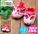 Rich Frog Bootie-rabbit pink (colorful dot)