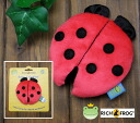 Rich Frog ベビークリンクラー & ladybugs insect Red