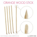 Orange stick wood stick 5 books with nail nail products