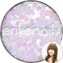 쿠로사키 에리코 쥬얼리 콜렉션(ERI-123) 환파스텔 펄 화이트 2 mm erikonail(에리코 네일)