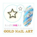 2 Color of the Star Gold nail art gold and silver!