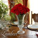Lambert Lambert Thor ガラスフラワー base vase vase antique antique Bowl clear transparent