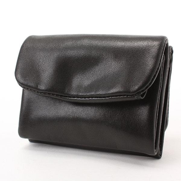ソフトレザー 3つ折り財布