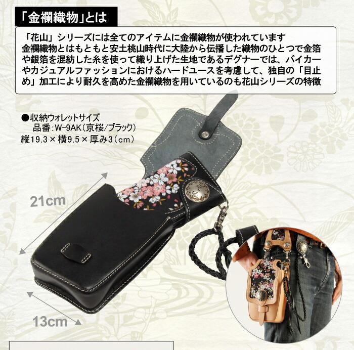 大型ウォレット/長財布やコンパクトカメラ/デジカメなど使い分けによって色々収納できます!